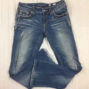 Miss Me JP5014-11 Boot Cut Jeans Size 29